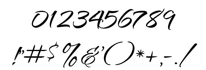 Qwigley Font OTHER CHARS