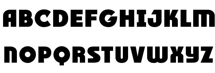 RACE1 Brannt Plus NCV Font Litere mici