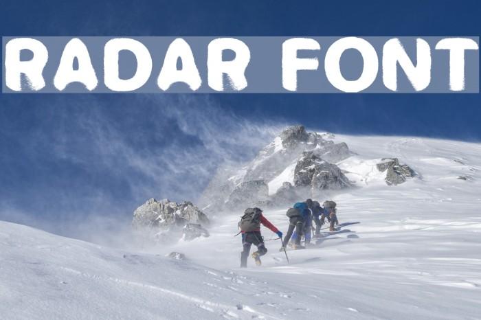 RADAR Fonte examples