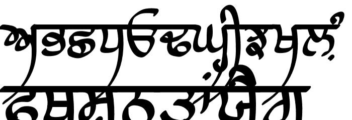 Raaj Script Medium Font UPPERCASE