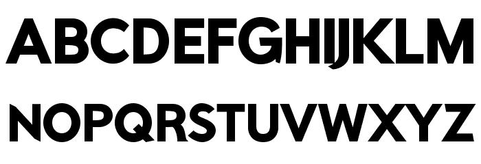 Rabbid Highway Sign IV Black Font UPPERCASE