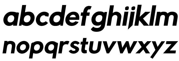 Rabbid Highway Sign IV Bold Oblique फ़ॉन्ट लोअरकेस