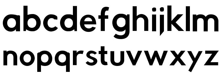 Rabbid Highway Sign IV Oblique Font Litere mici