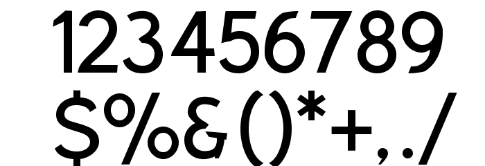 Rabbid Highway Sign VII Font OTHER CHARS