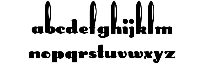 Rabbit Regular Font Litere mari