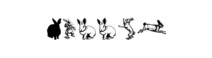 Rabbit  Free Fonts Download