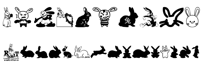 Rabbit Font OTHER CHARS