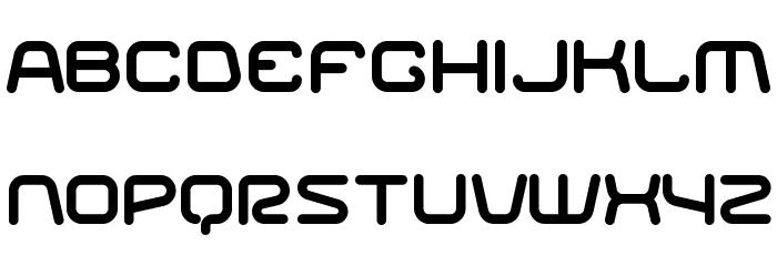 Racer Regular Font Litere mici