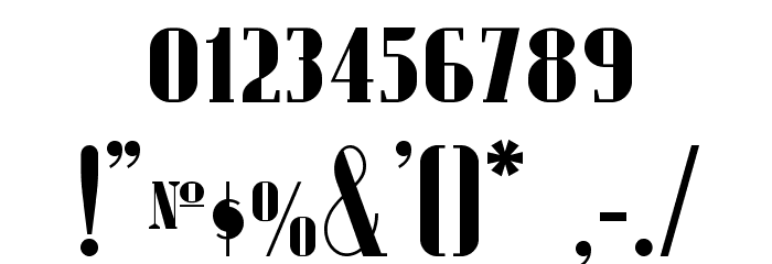 Radio Ranch NF Font OTHER CHARS