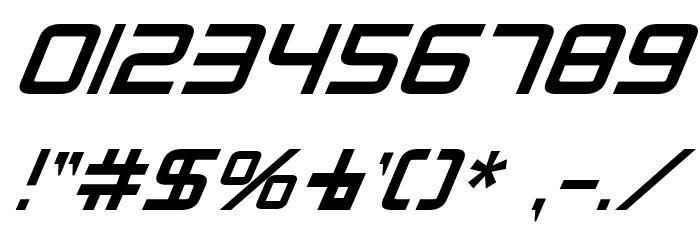 Radio Space Bold Italic Fonte OUTROS PERSONAGENS