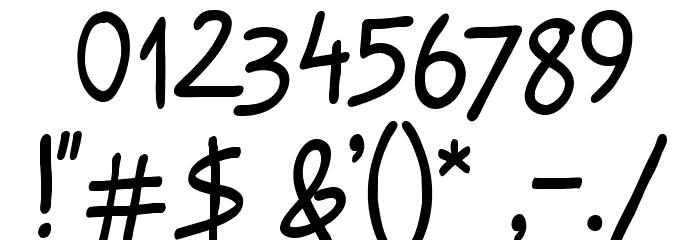 Raggedways لخطوط تنزيل حرف أخرى