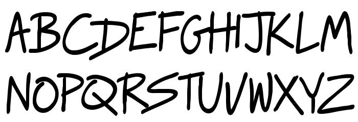 Raggedways لخطوط تنزيل الأحرف الكبيرة