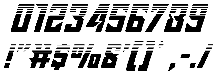Raider Crusader Halftone Font OTHER CHARS