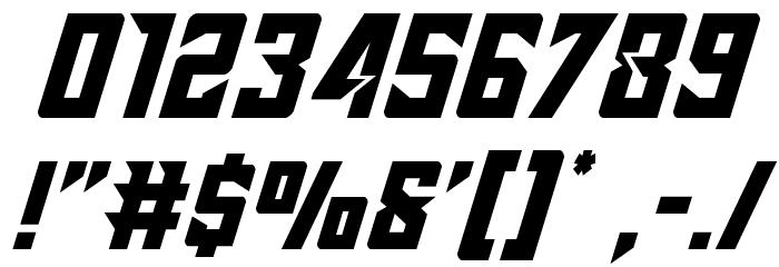 Raider Crusader Font OTHER CHARS
