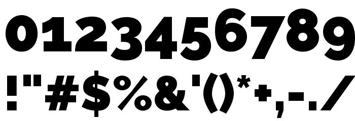 Raleway Black Font OTHER CHARS