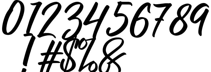 RaphLanokFuture フォント その他の文字