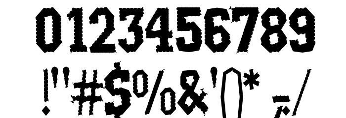 Rat Man Bane Шрифта ДРУГИЕ символов