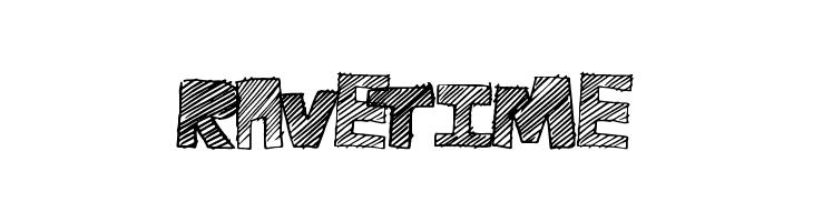 RaveTime  Free Fonts Download