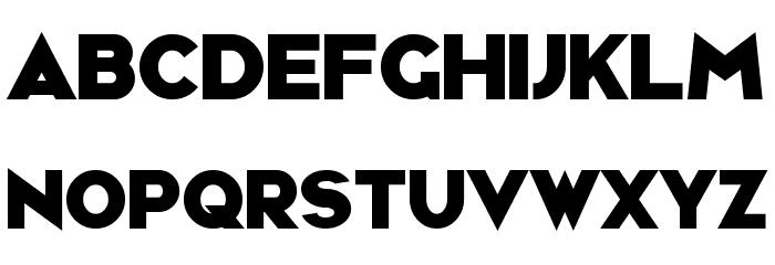 Ravenwood Font UPPERCASE