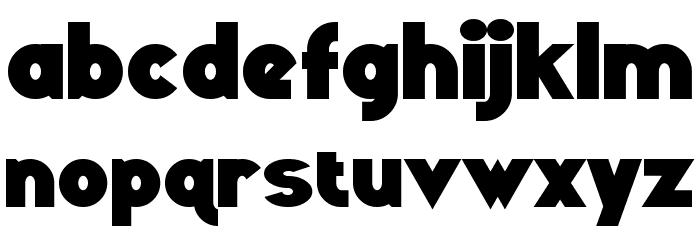 Ravenwood Font LOWERCASE