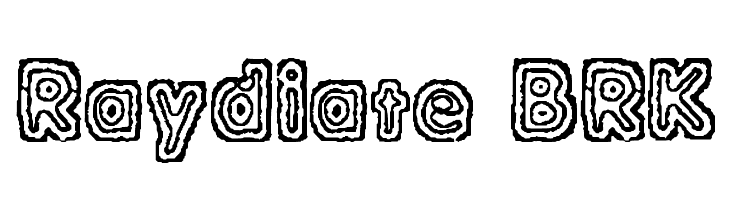 Raydiate [BRK]  Free Fonts Download