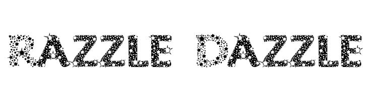 Razzle Dazzle  Free Fonts Download