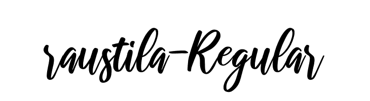 raustila-Regular  Free Fonts Download