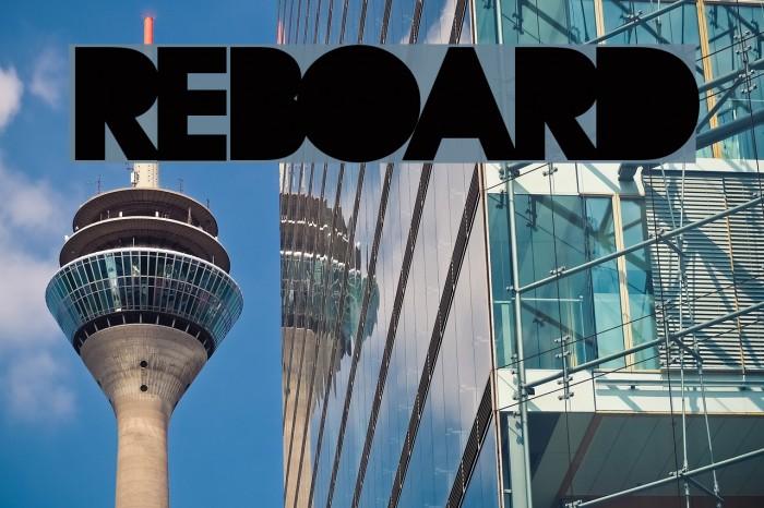 REBOARD Font examples