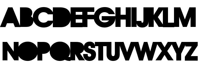 REBOARD Font LOWERCASE