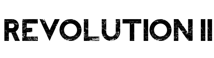 REVOLUTION II  Free Fonts Download