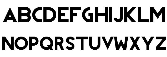 REVOLUTION フォント 大文字