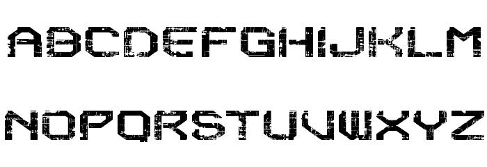 Reboot Crush Fonte MAIÚSCULAS