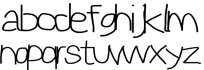 Reckless Catfish Wide Шрифта строчной