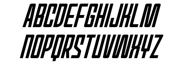 Red World Italic Шрифта ВЕРХНИЙ