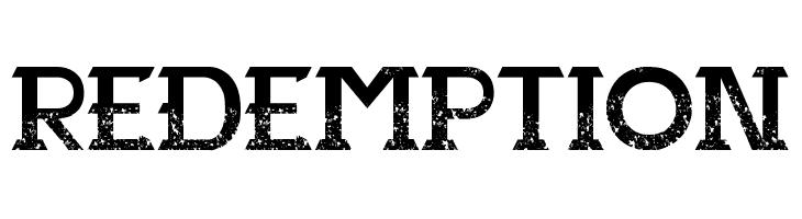 Redemption  Скачать бесплатные шрифты
