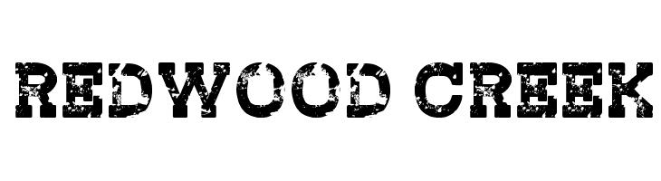 Redwood Creek  les polices de caractères gratuit télécharger
