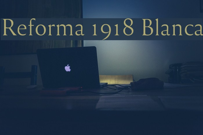 Reforma 1918 Blanca Fuentes examples