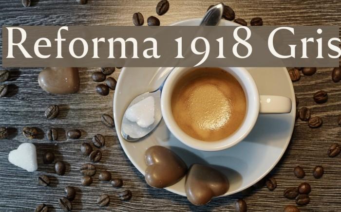 Reforma 1918 Gris Fuentes examples