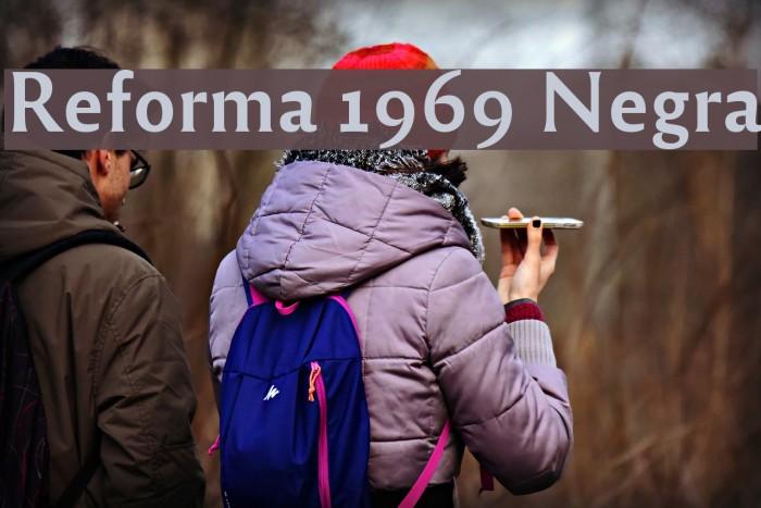 Reforma 1969 Negra Fuentes examples