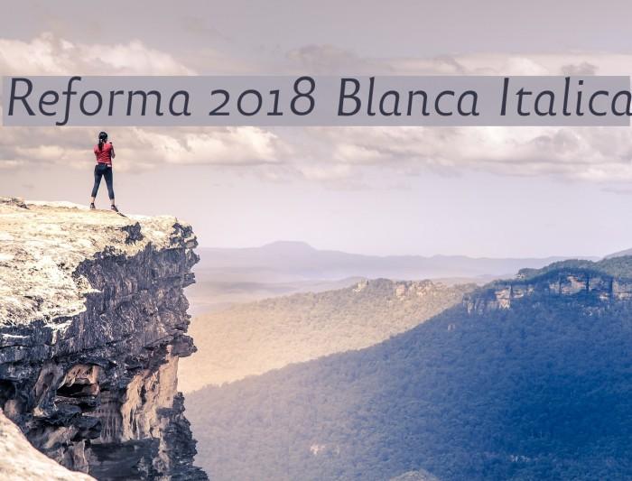 Reforma 2018 Blanca Italica Fuentes examples