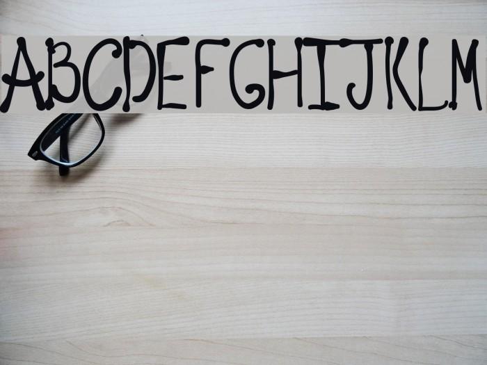 Regellos Font examples