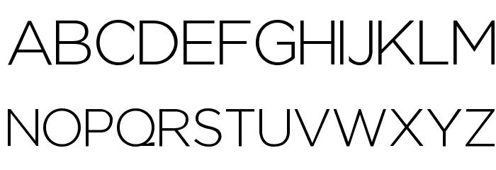 Regencie Light Font UPPERCASE