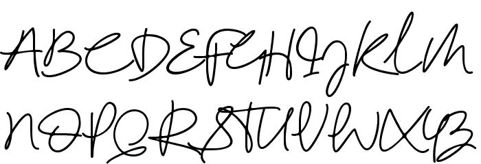 Reinata Demo Schriftart Groß