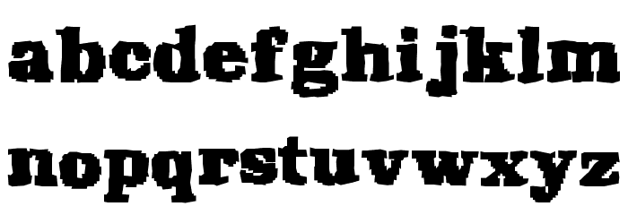 Rekaptcha Font Litere mici