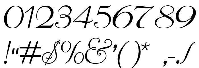 ReliantLimitedFreeVersion Шрифта ДРУГИЕ символов