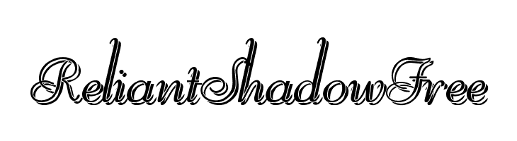ReliantShadowFree  font caratteri gratis