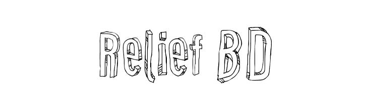 Relief BD  Descarca Fonturi Gratis