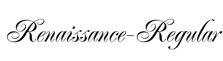 Renaissance-Regular  Free Fonts Download
