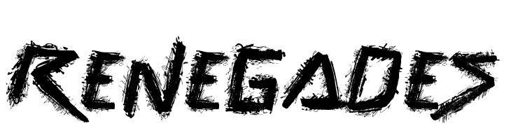 Renegades  Free Fonts Download