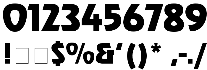 Renfrew Font OTHER CHARS